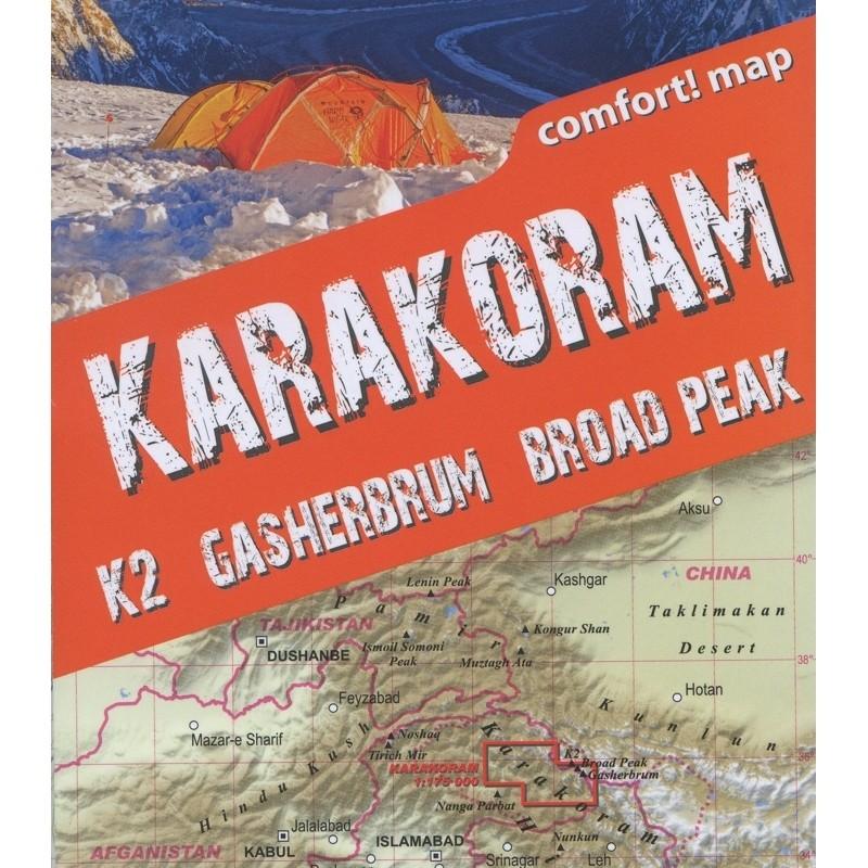 Karakoram Trekking Map: terraQuest by terraQuest