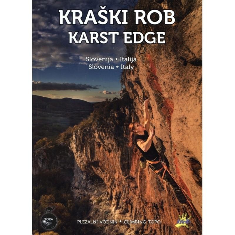 Kraski Rob Karst Edge: climbing topo