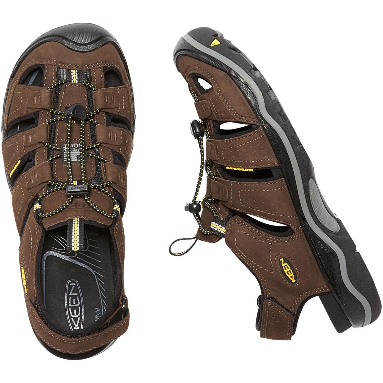Keen Rialto Men's Sandals - Bison/Black