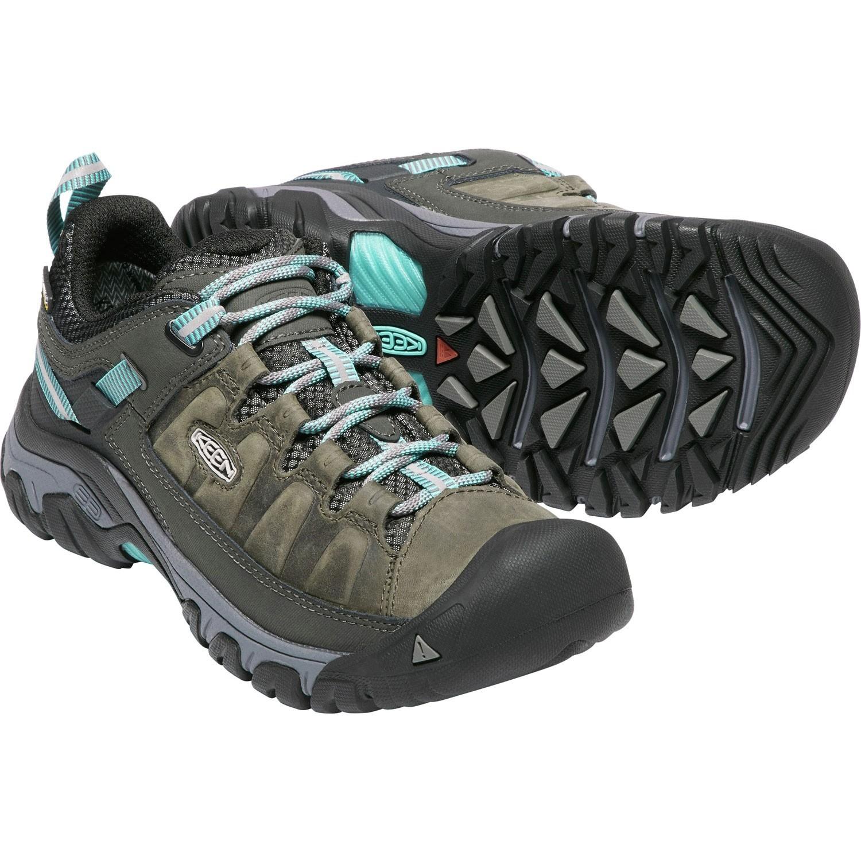 Keen Targhee III Waterproof Women's Hiking Shoes - Alcatraz/Blue Turquoise