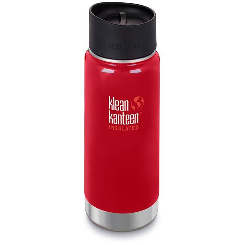 KLEAN KANTEEN - Insulated Cafe Cap Flask - 473ml - Mineral Red