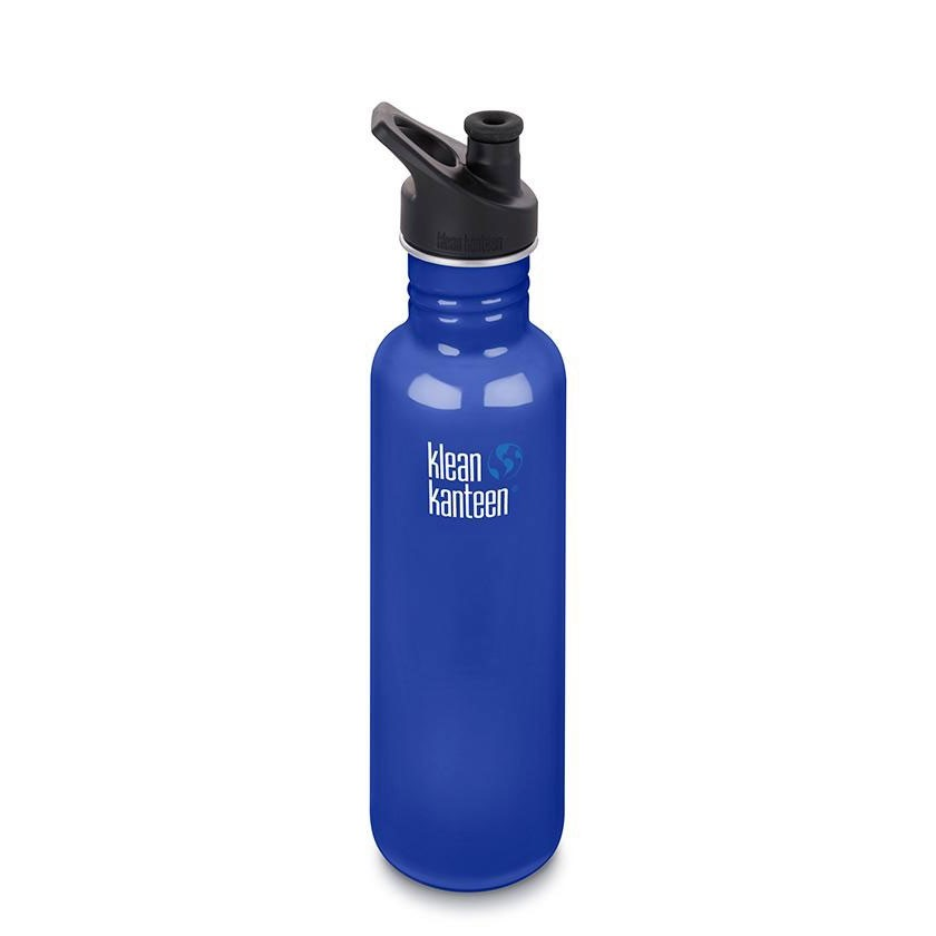 Klean Kanteen Classic Single Wall Loop Bottle 800ml - Coastal Waters