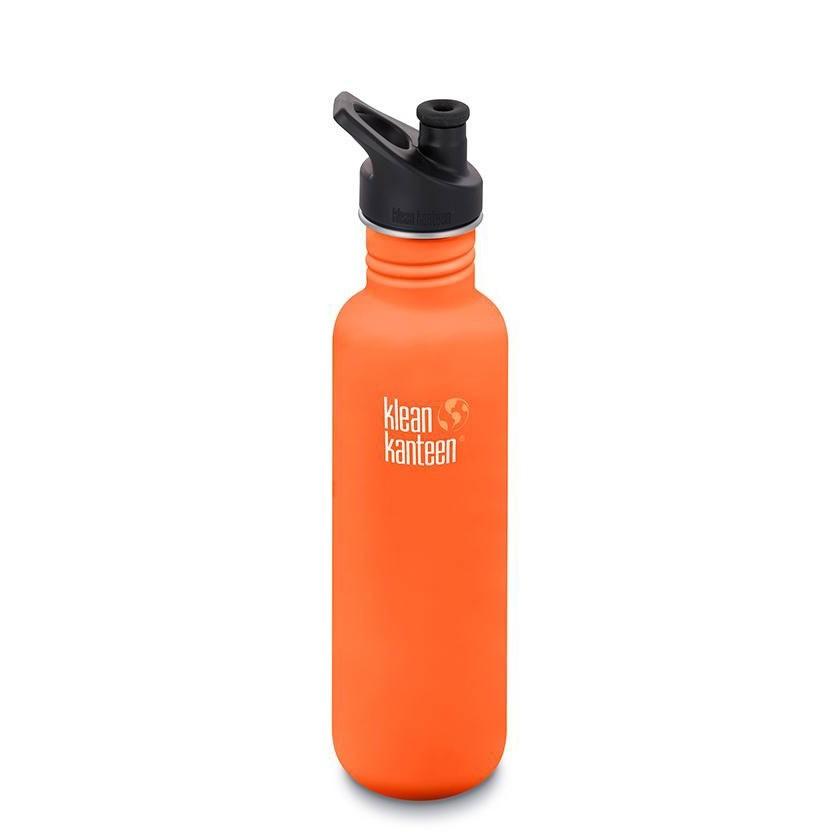 Klean Kanteen Classic Single Wall Loop Bottle 800ml - Sierra Sunset