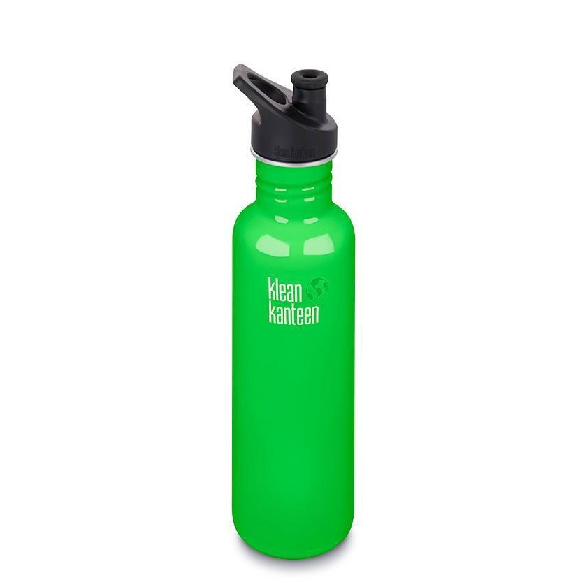 Klean Kanteen Classic Single Wall Loop Bottle 800ml - Spring Green