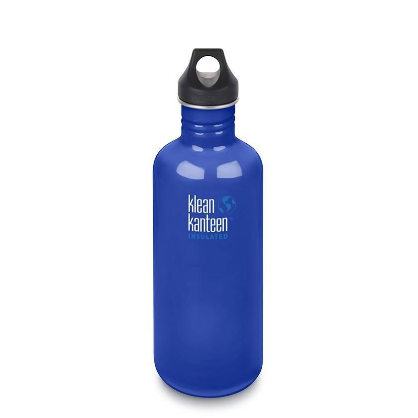 Klean Kanteen K40CPPS Classic Single Wall Loop Bottle - Coastal Waters