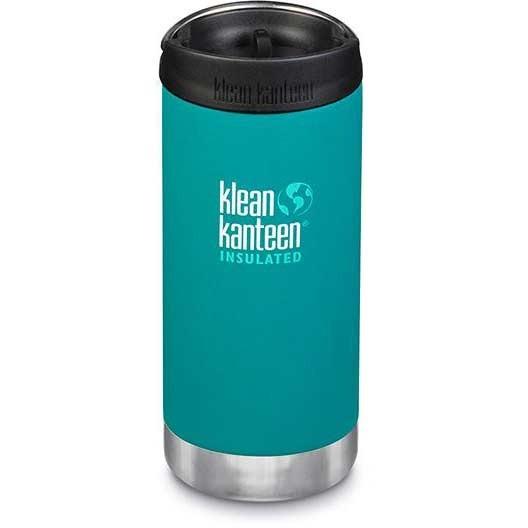 Klean Kanteen Insulated TKWide w/ Café Cap 355ml - Emerald Bay
