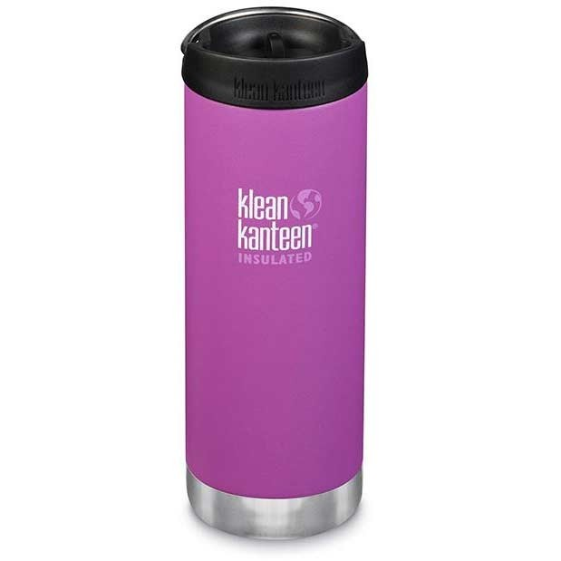 Klean Kanteen Insulated TKWide w/ Café Cap 473ml - Berry Bright