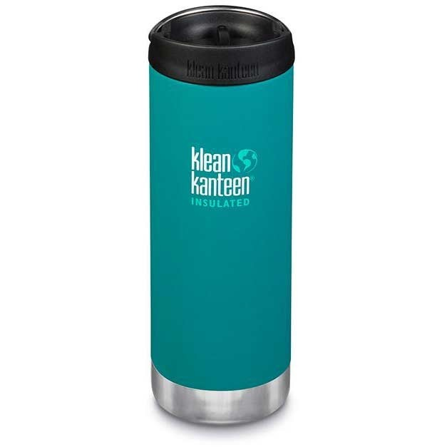 Klean Kanteen Insulated TKWide w/ Café Cap 473ml - Emerald Bay