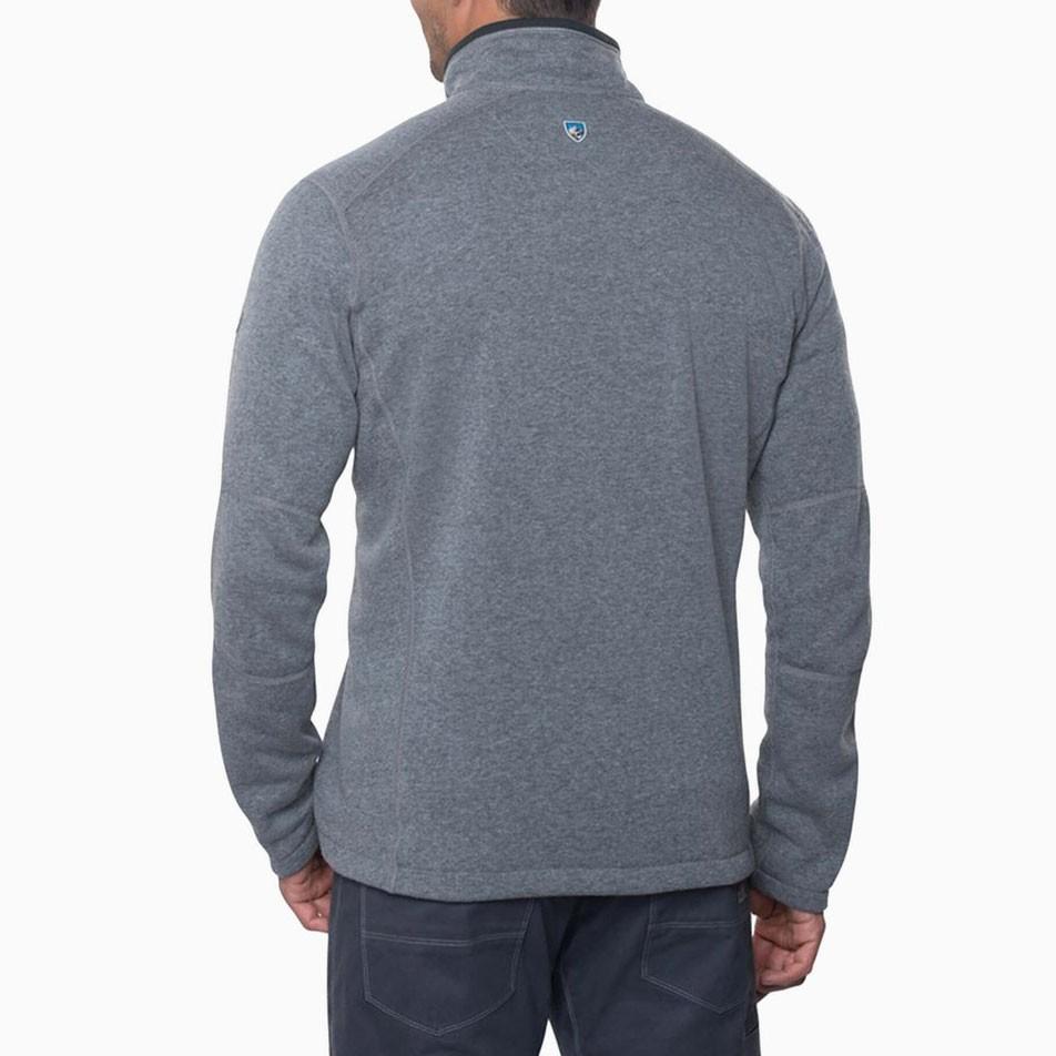Kuhl Revel 1/4 Zip Fleece - Mens - Shale