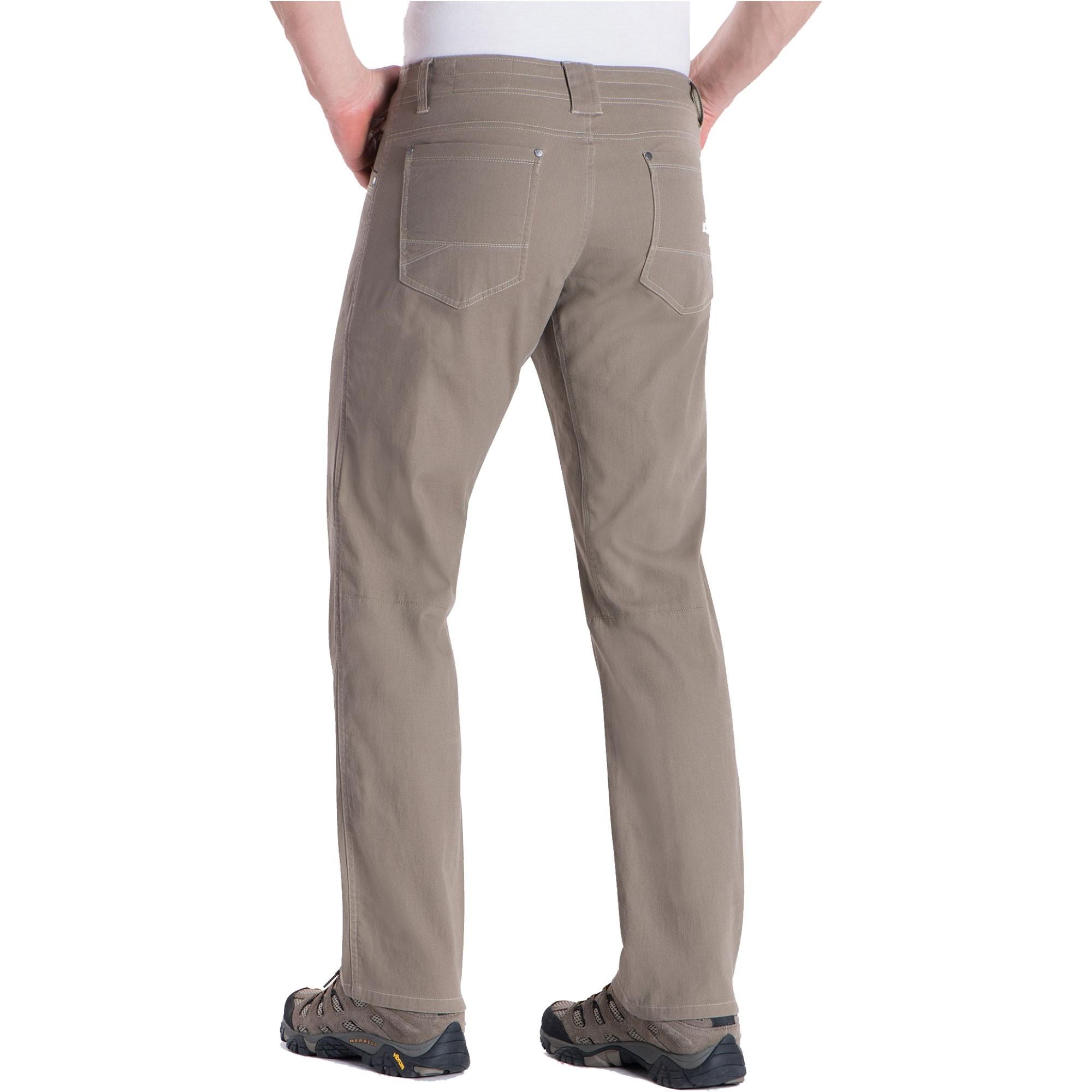 Kuhl Men's Kanvus Jeans 5114 Back - Khaki