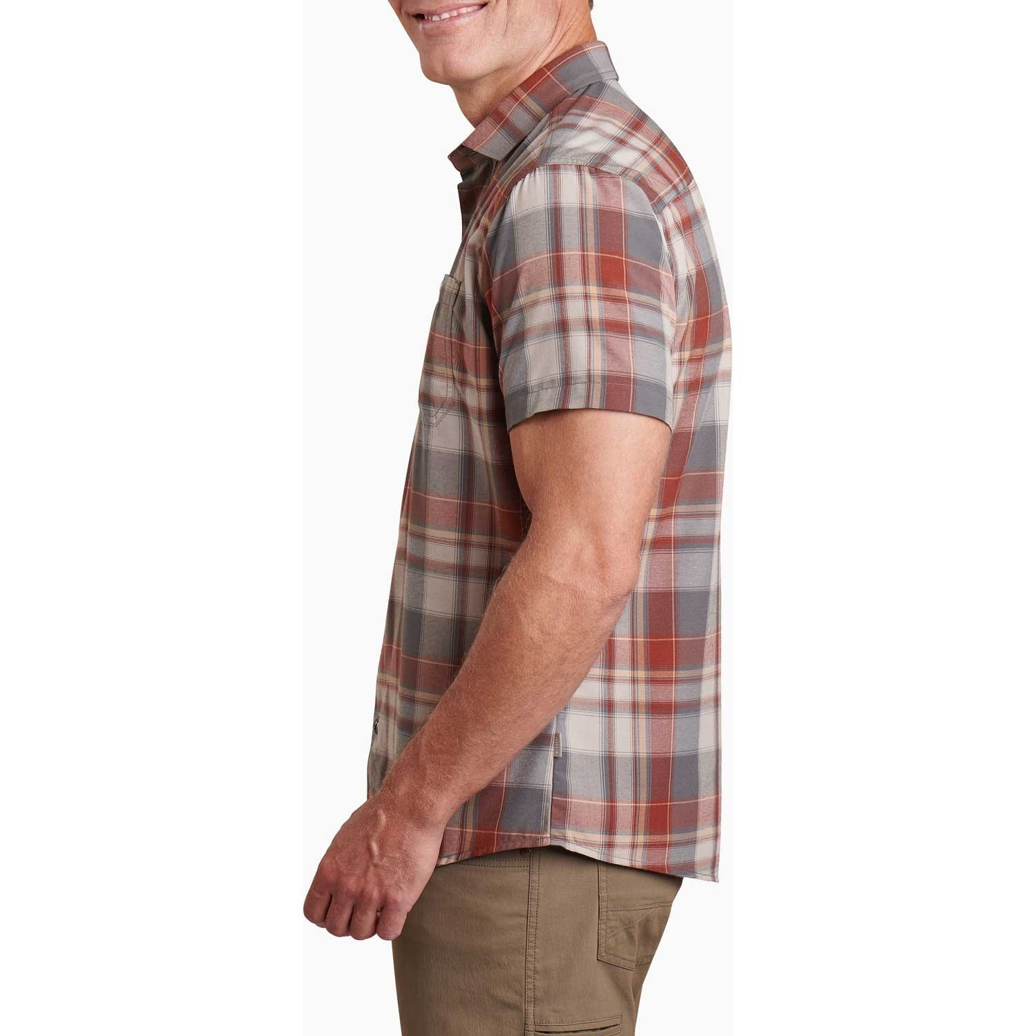 Kuhl Styk shirt - Mens - Campfire Red