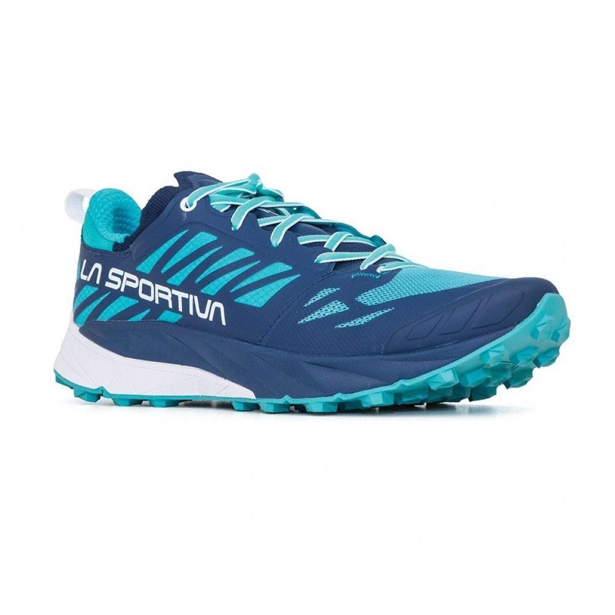 La Sportiva La Sportiva Kaptiva Running Shoe - Womens - Marine Blue/Aqua
