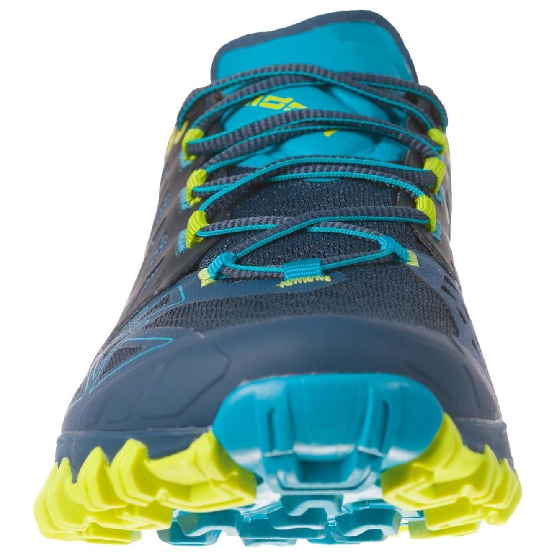 LA SPORTIVA - Bushido Trail Running Shoe - Opal/Apple Green