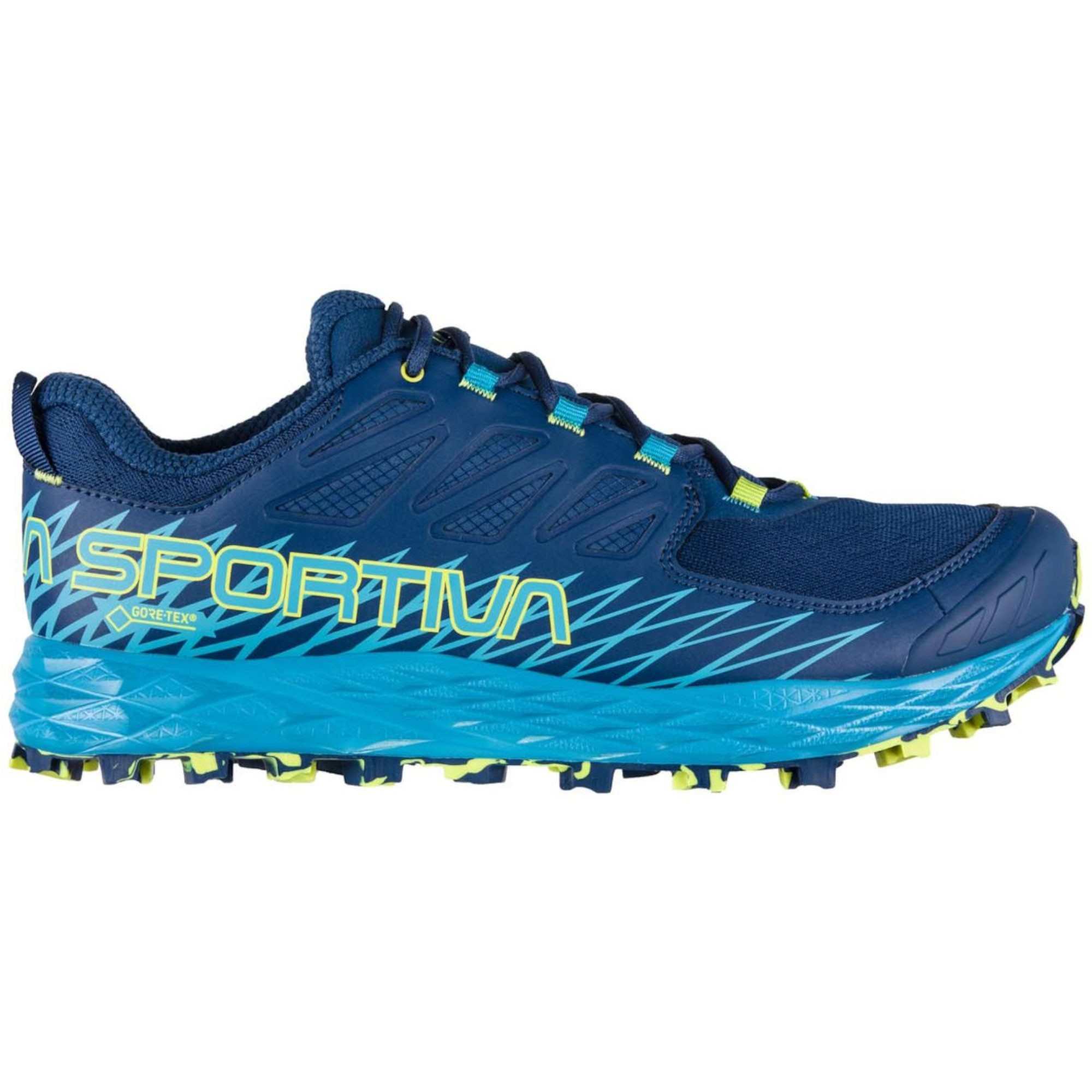 La Sportiva Lycan GTX Men's Trail Running Shoes - Indigo/Tropic Blue