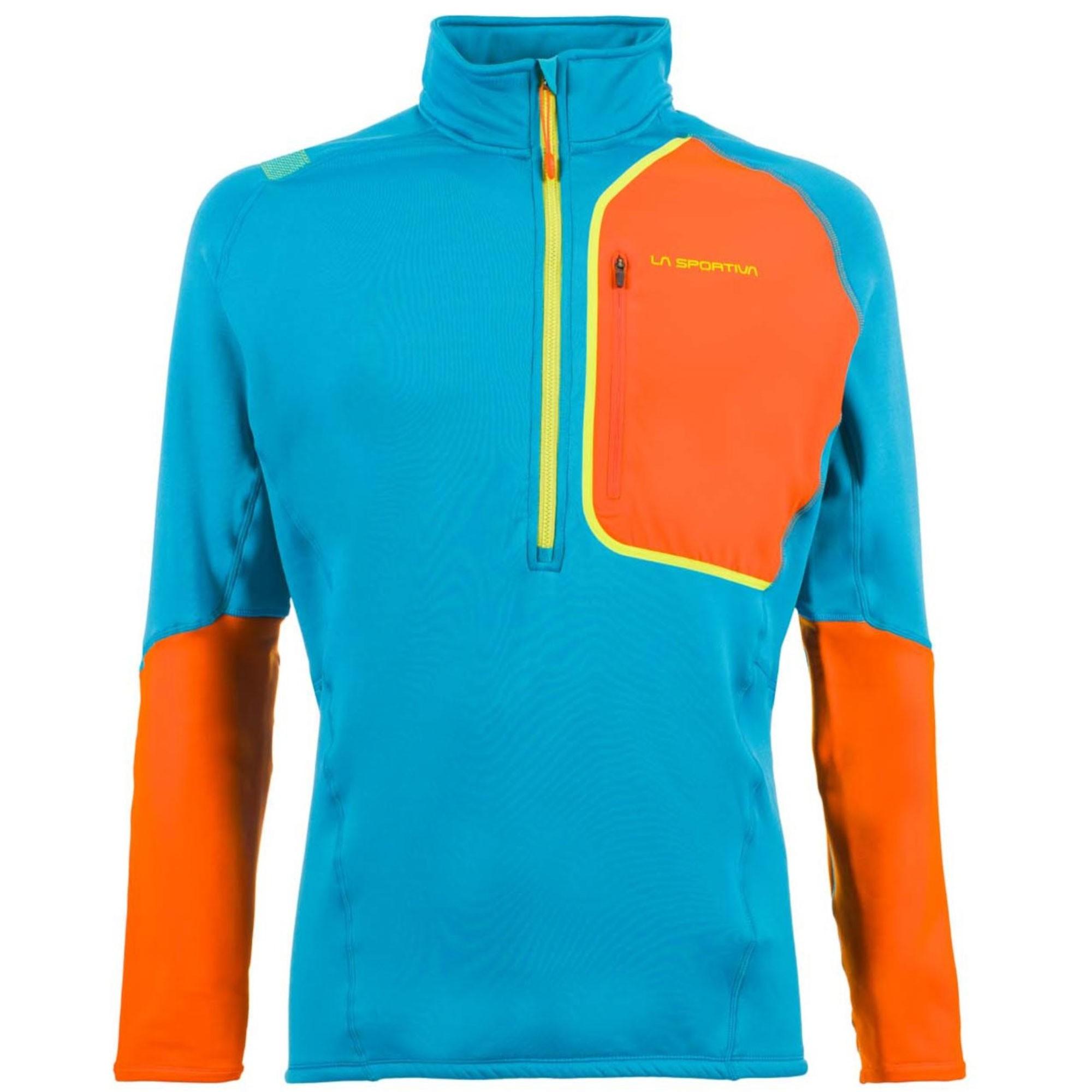 LA SPORTIVA Millennium Pullover - Tropic Blue/Pumpkin
