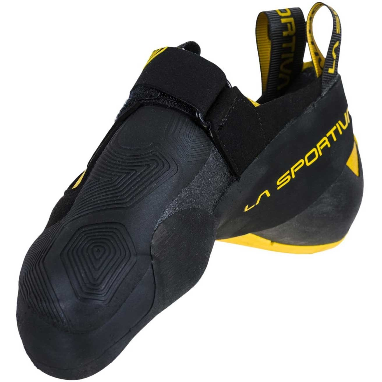 La Sportiva Theory Climbing Shoe - Men's - Black/Yellow
