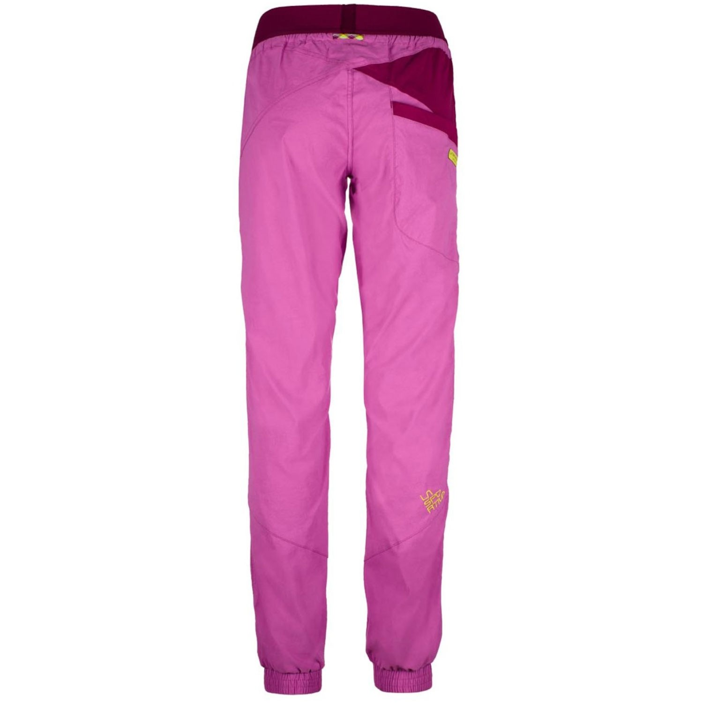 LA SPORTIVA - Mantra Women's Climbing Pants - Purple/Plum - back