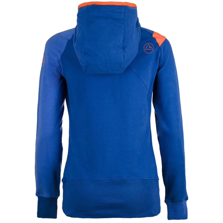 La Sportiva Women's Squamish Hoody - Cobalt Blue/Marine - back