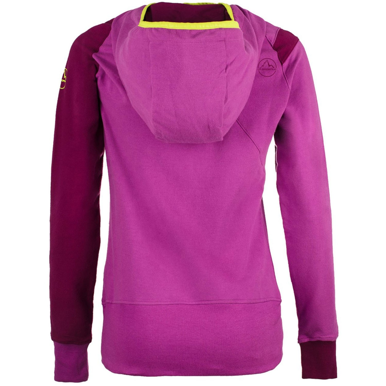 La Sportiva Women's Squamish Hoody - Purple/Plum - back