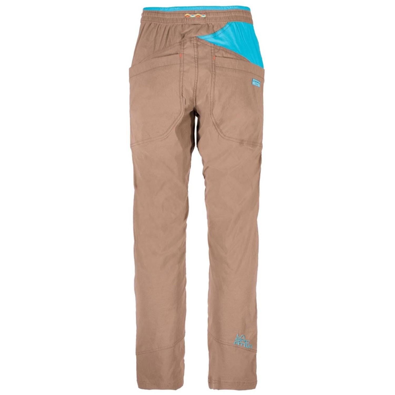La Sportiva Talus Climbing Pants - Falcon Brown - back
