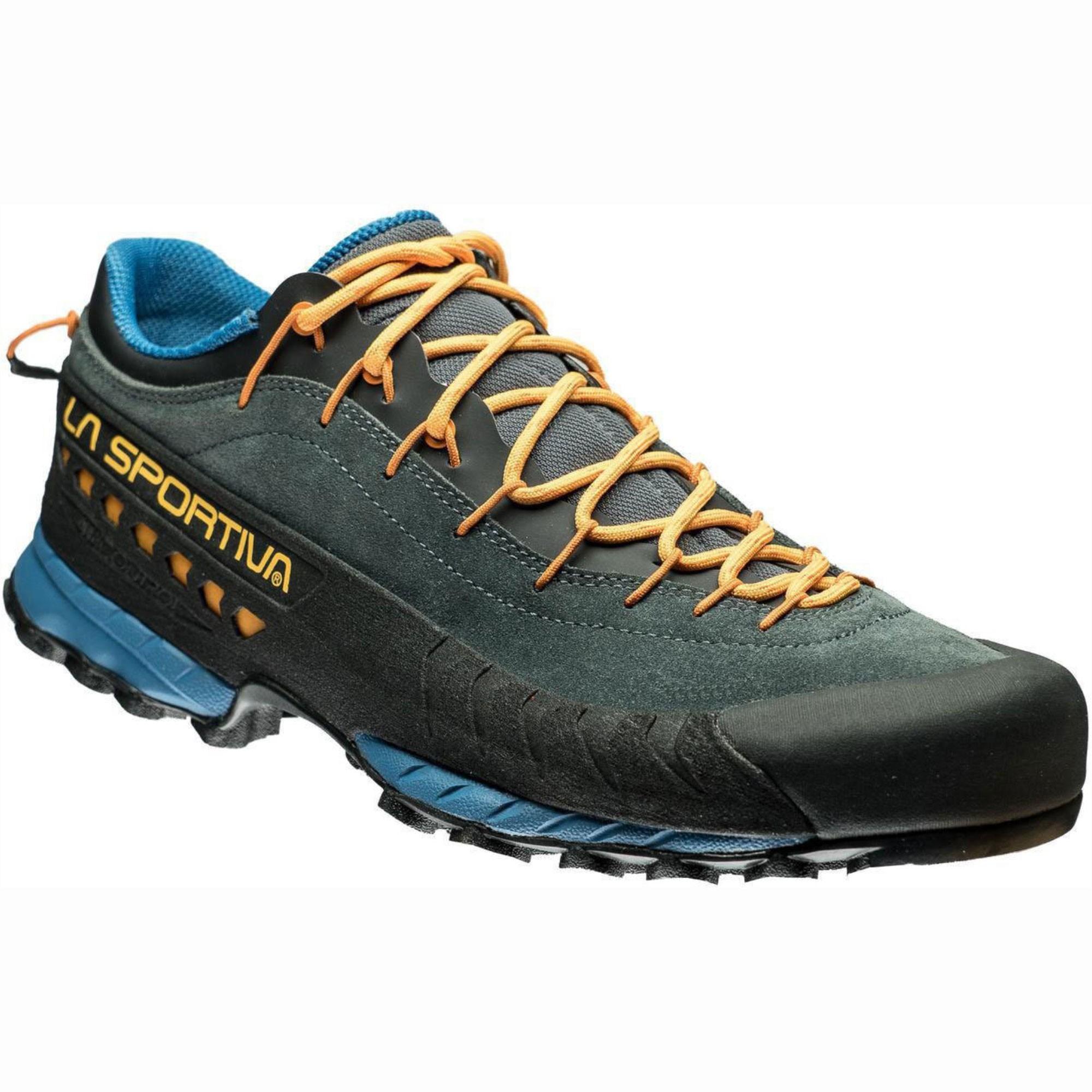 La-Sportiva-TX4-Mens-Approach-Shoe-Blue-Papaya