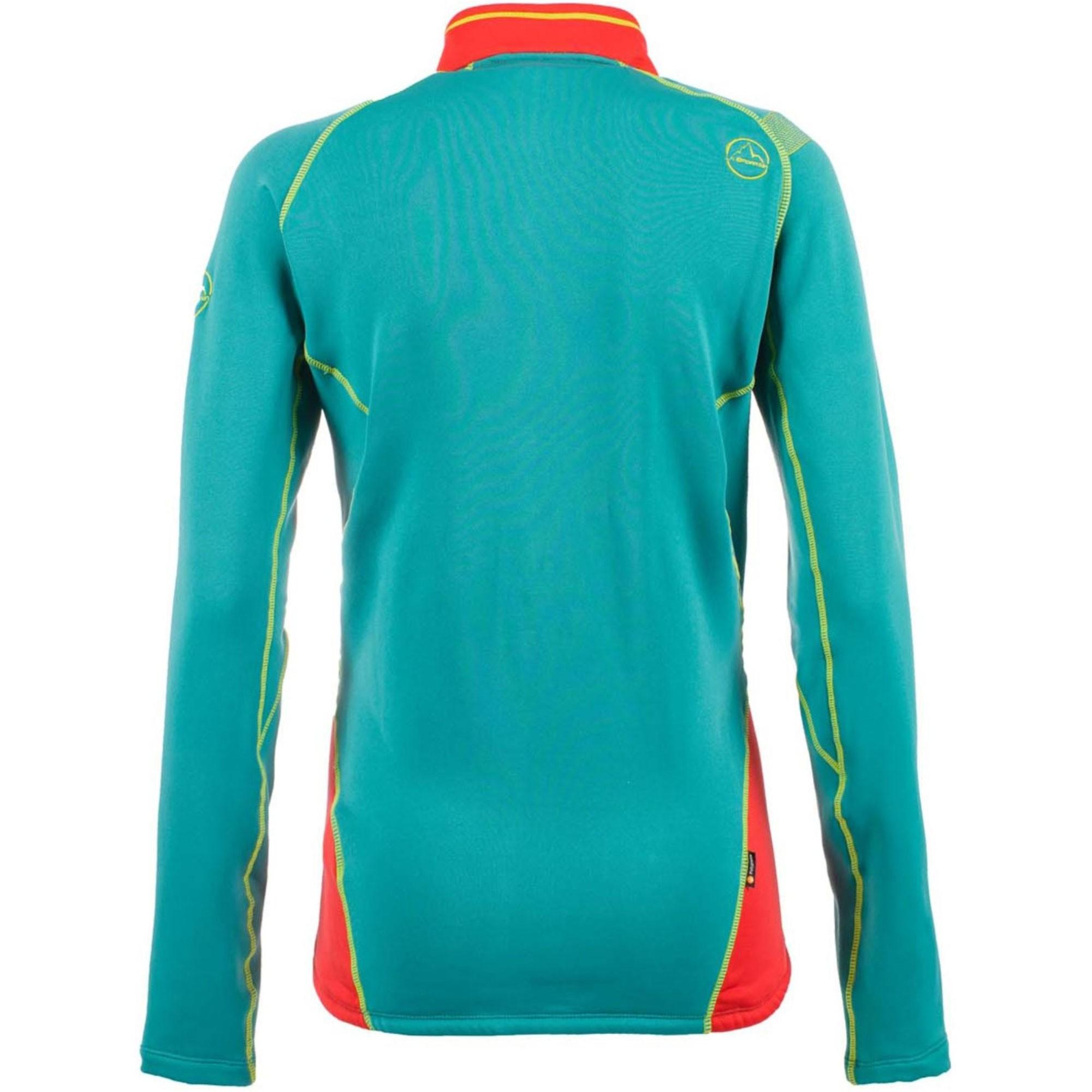 LA SPORTIVA Luna Women's Fleece Jacket - Garnet/Emerald