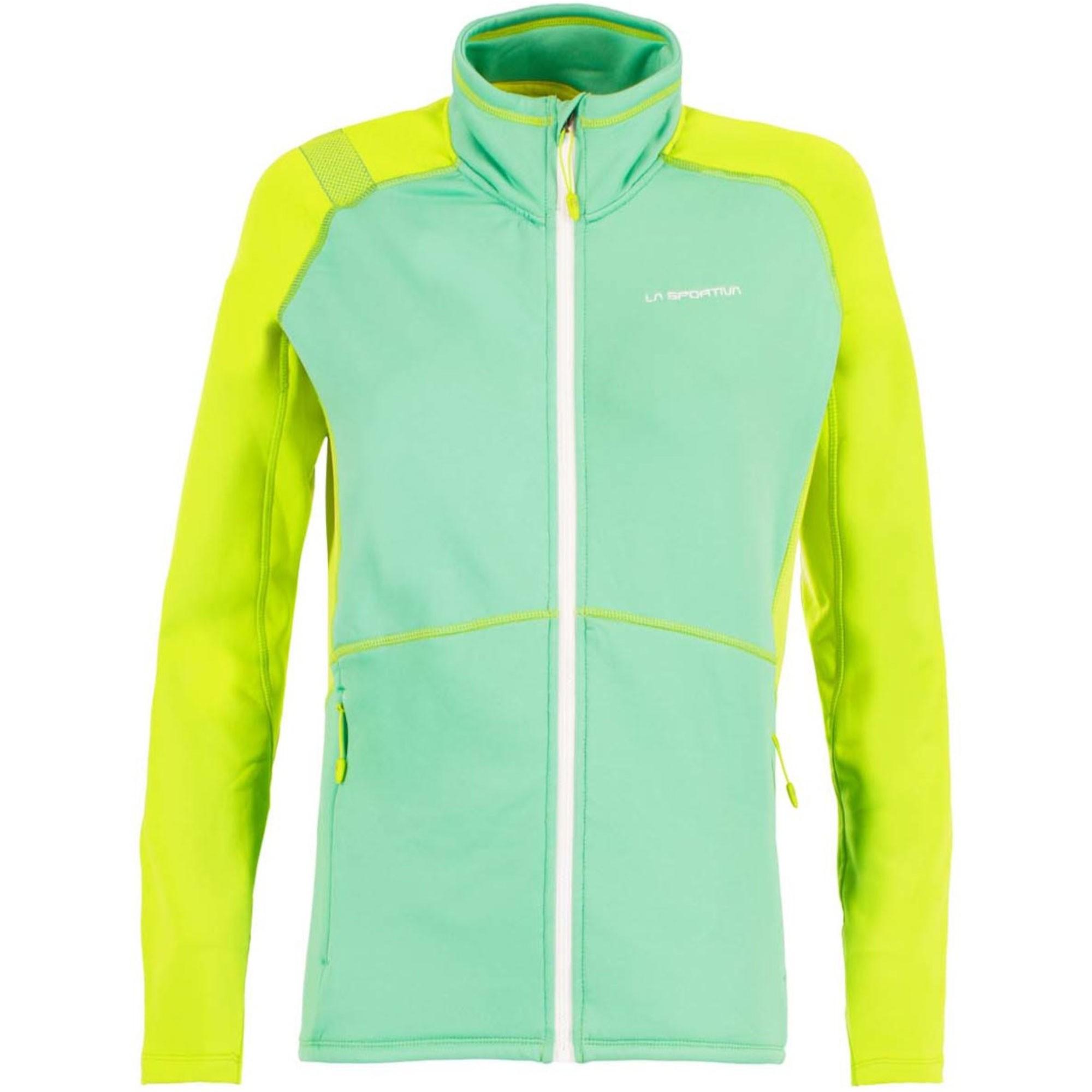 LA SPORTIVA Luna Women's Fleece Jacket - Spruce/Apple Green