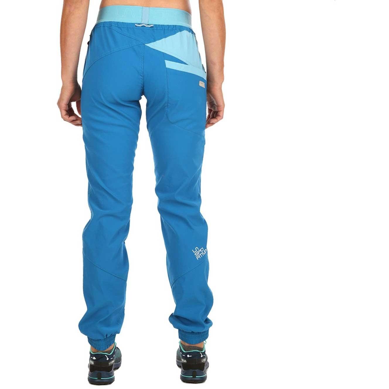 La Sportiva Mantra Pants - Women's - Neptune/Pacific Blue