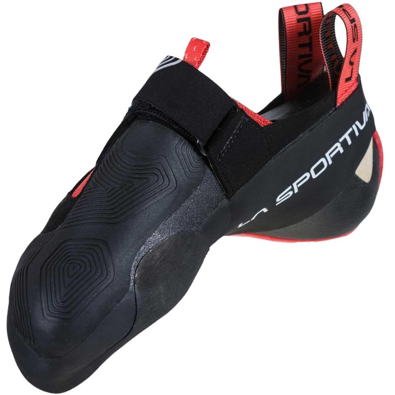 La Sportiva Theory Climbing Shoe - Women's - Black/Hibiscus