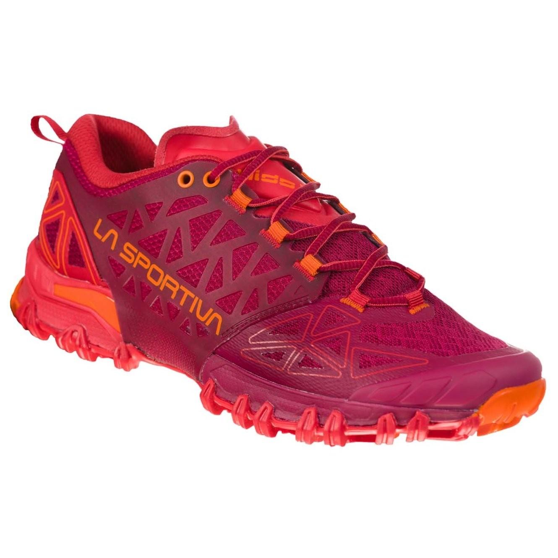 LA SPORTIVA - Bushido II Women's Trail Running Shoe - Beet/Garnet