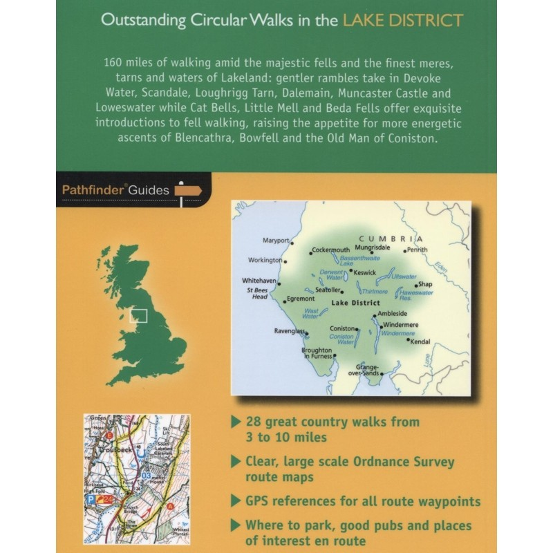 Lake District Outstanding Circular Walks: Pathfinder Guide 60