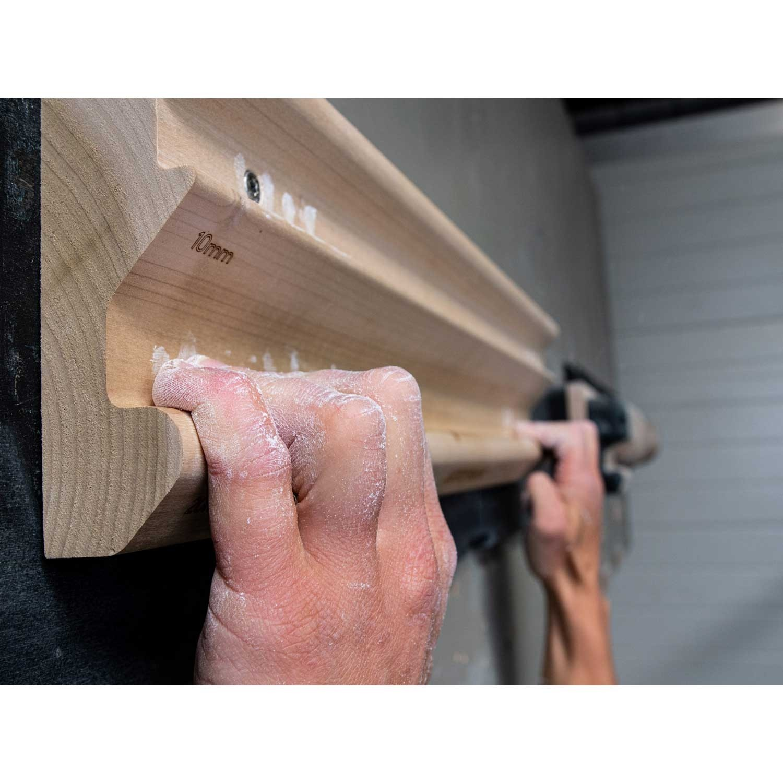 Lattice Training Triple Rung Fingerboard