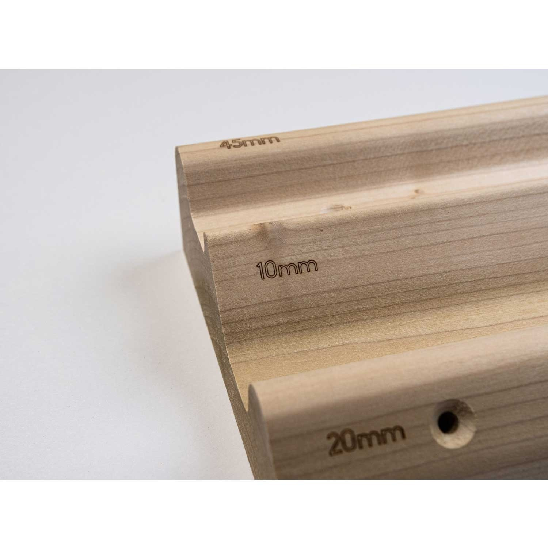 Lattice Training Triple Rung Fingerboard 3 edges