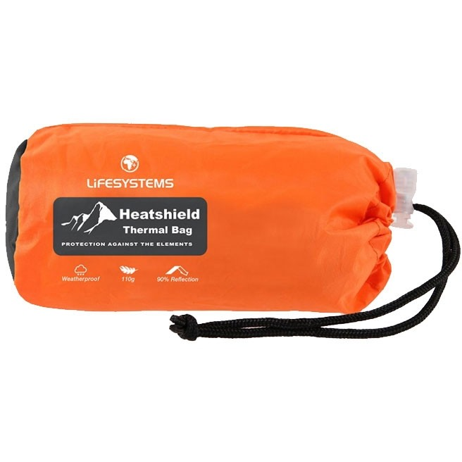 Lifesystems Heatshield Thermal Bivi Bag Orange