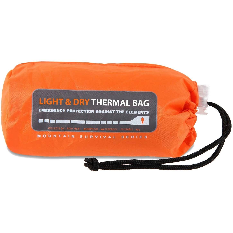 Lifesystems Light and Dry Thermal Bivi Bag Orange