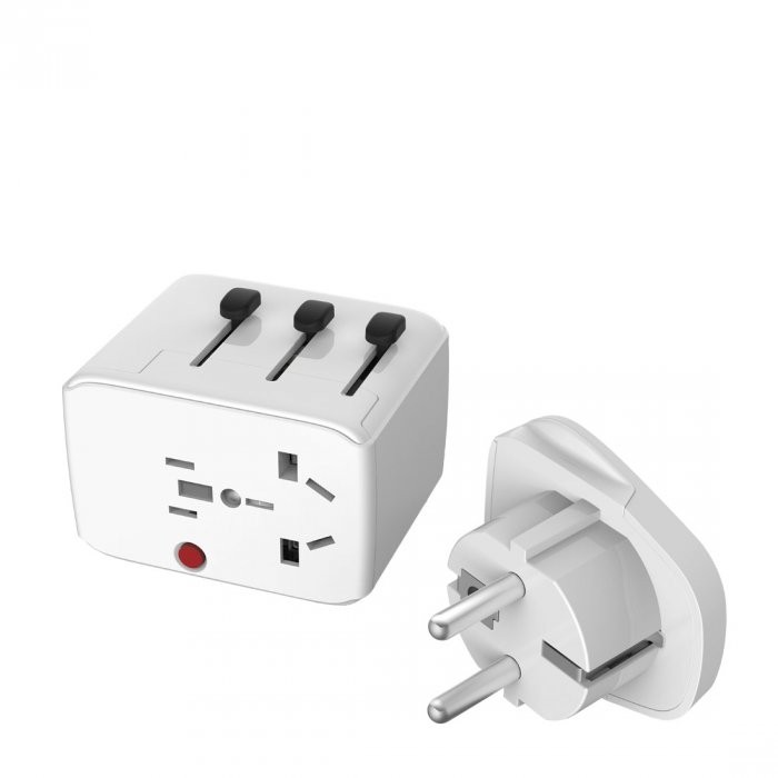 Lifeventure USB Travel Adapter