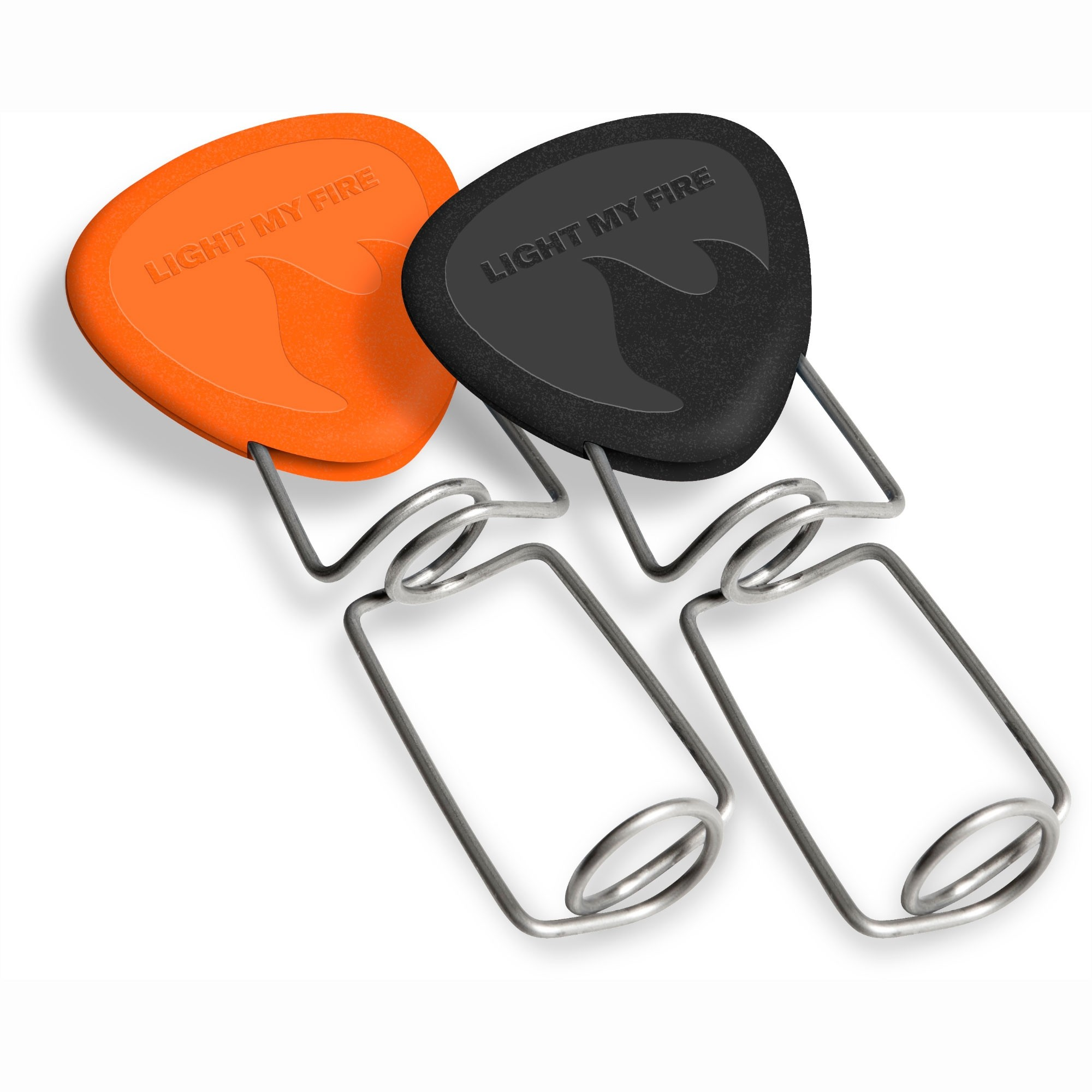 LIGHT MY FIRE - Grill Fork - Orange/Black