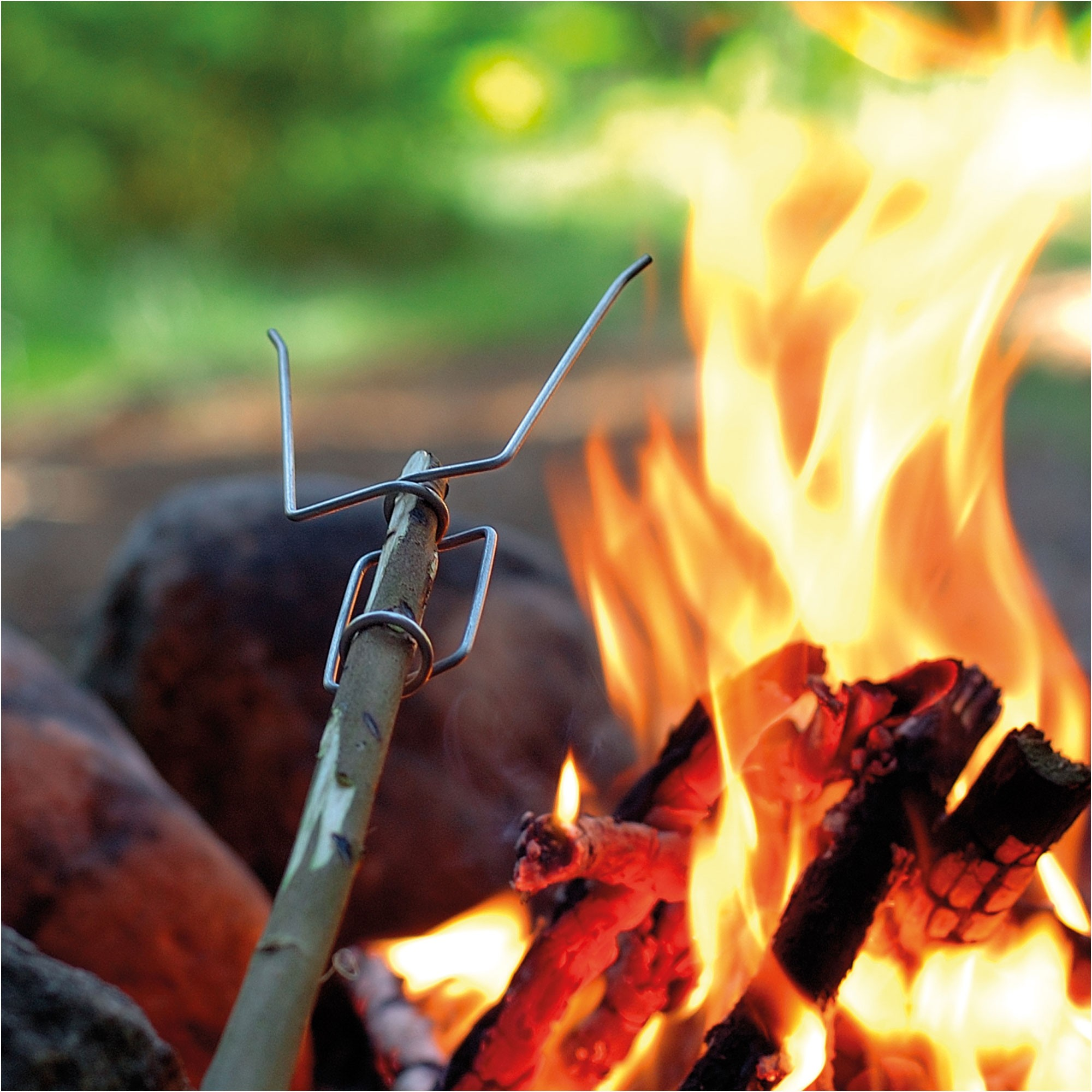 LIGHT MY FIRE - Grill Fork - in use