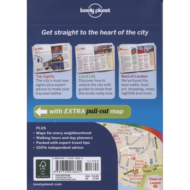 London: Lonely Planet Pocket Guide