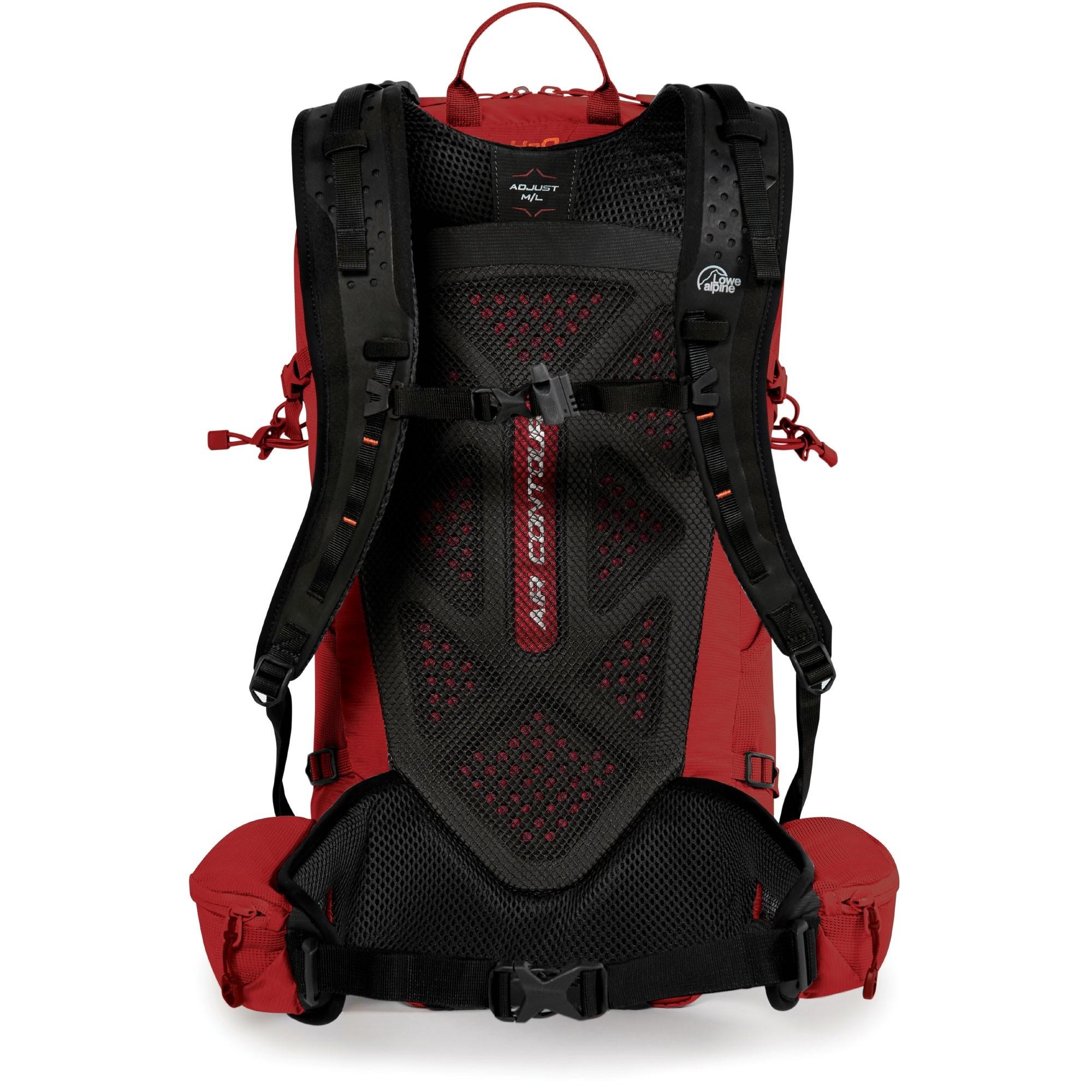 Lowe Alpine Aeon 18 Rucksack - Auburn - Back System