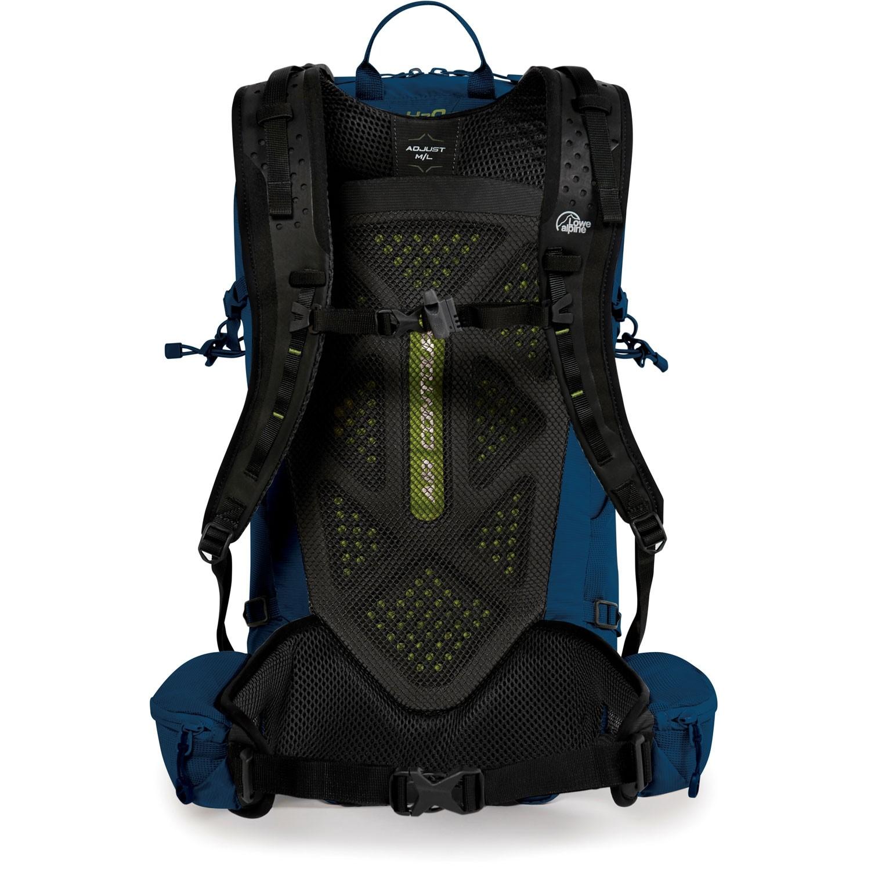 Lowe Alpine Aeon 18 Rucksack - Azure - Back System