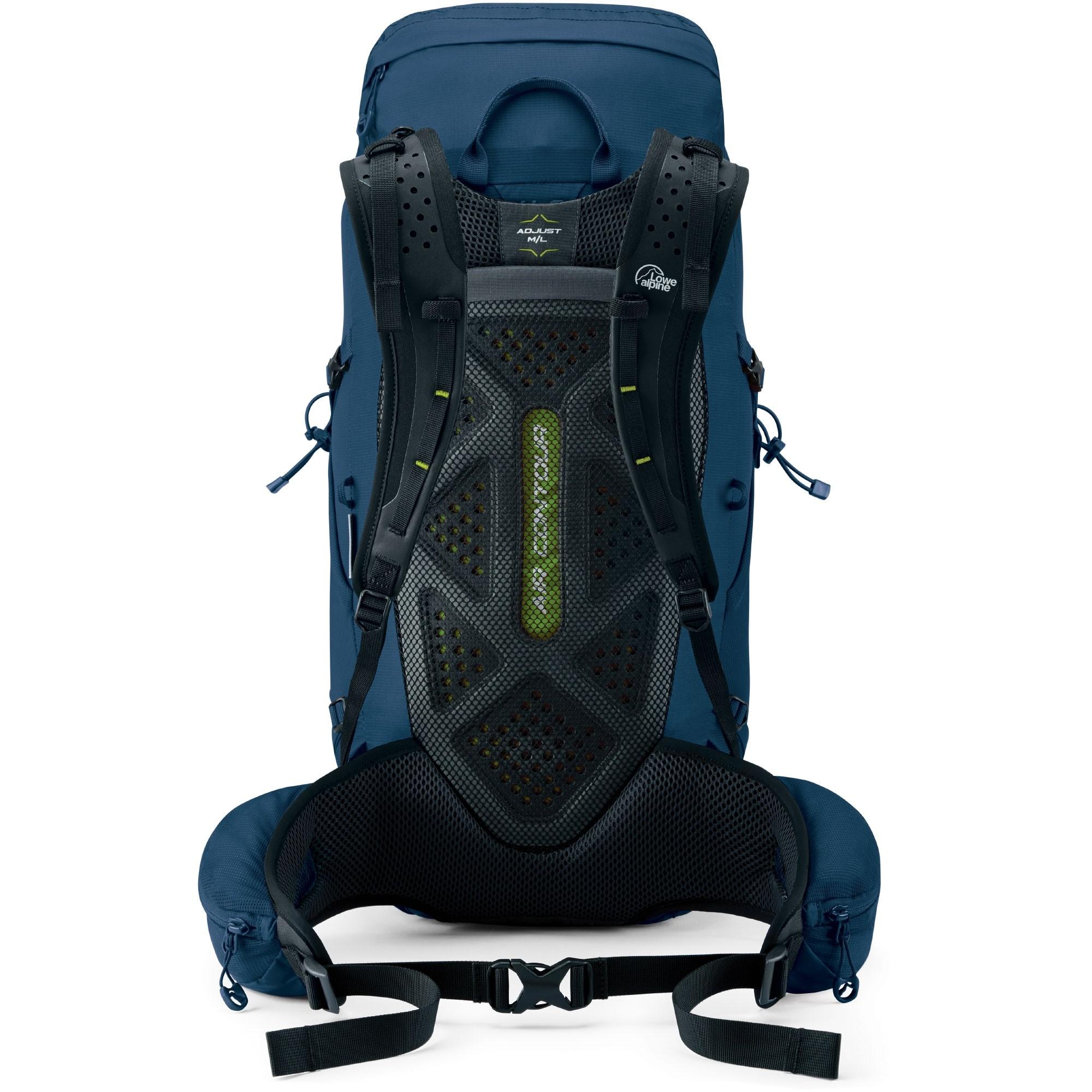 Lowe Alpine Aeon 35 Rucksack - Azure - Back System