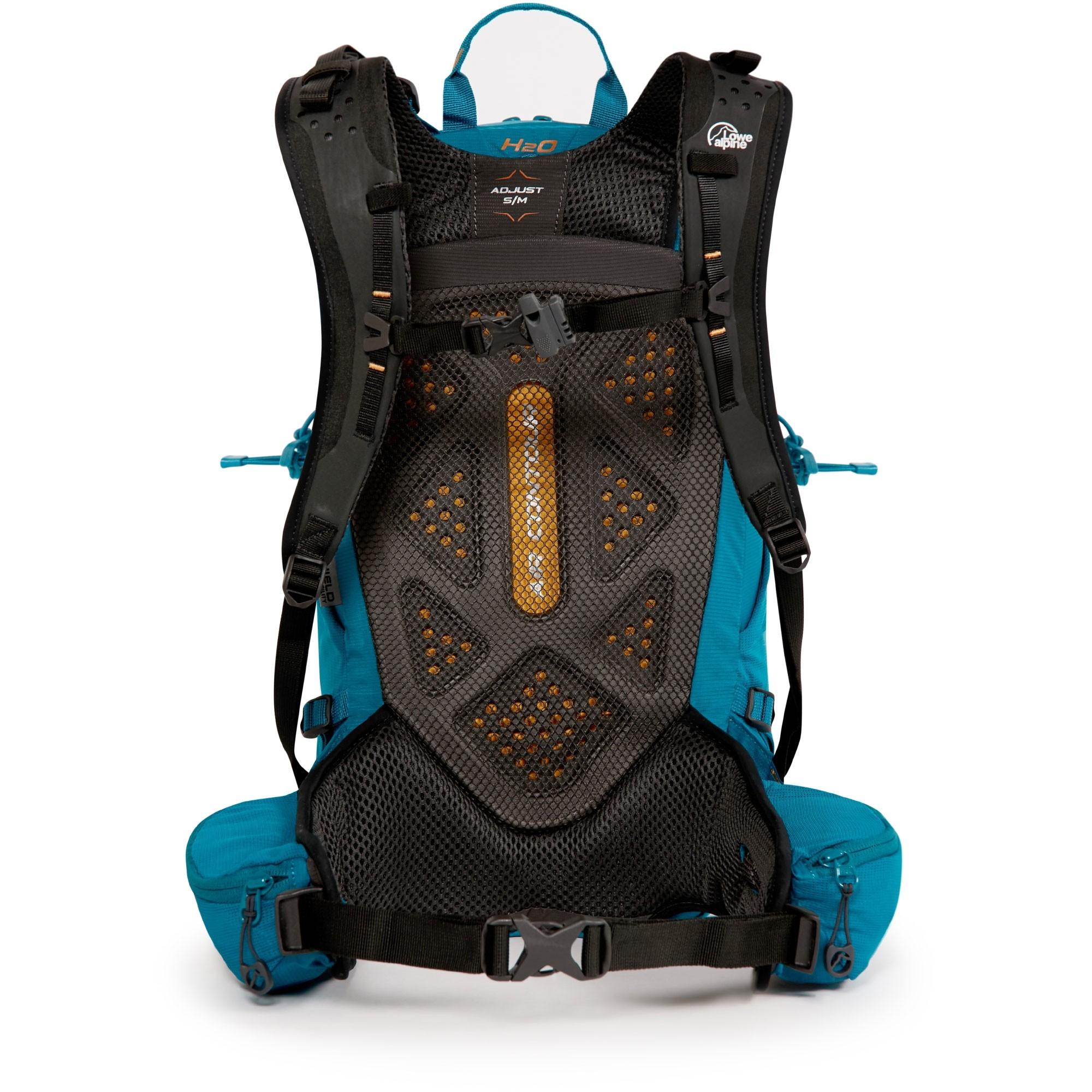 Lowe Alpine Aeon ND16 Women's Rucksack - Lagoon Blue - back system