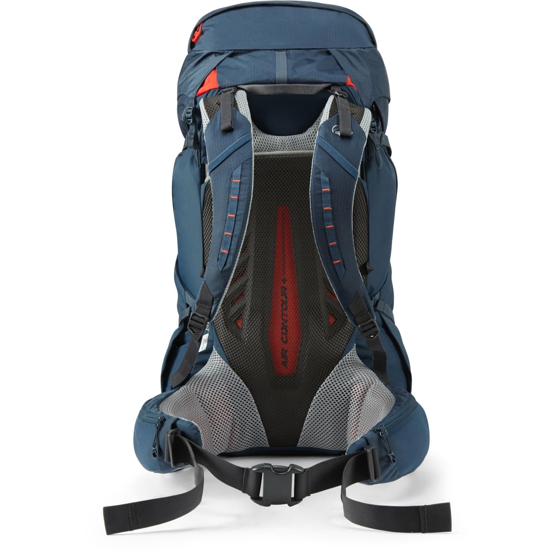 Lowe Alpine Altus 52:57 Hiking Rucksack - Blue Night - back system