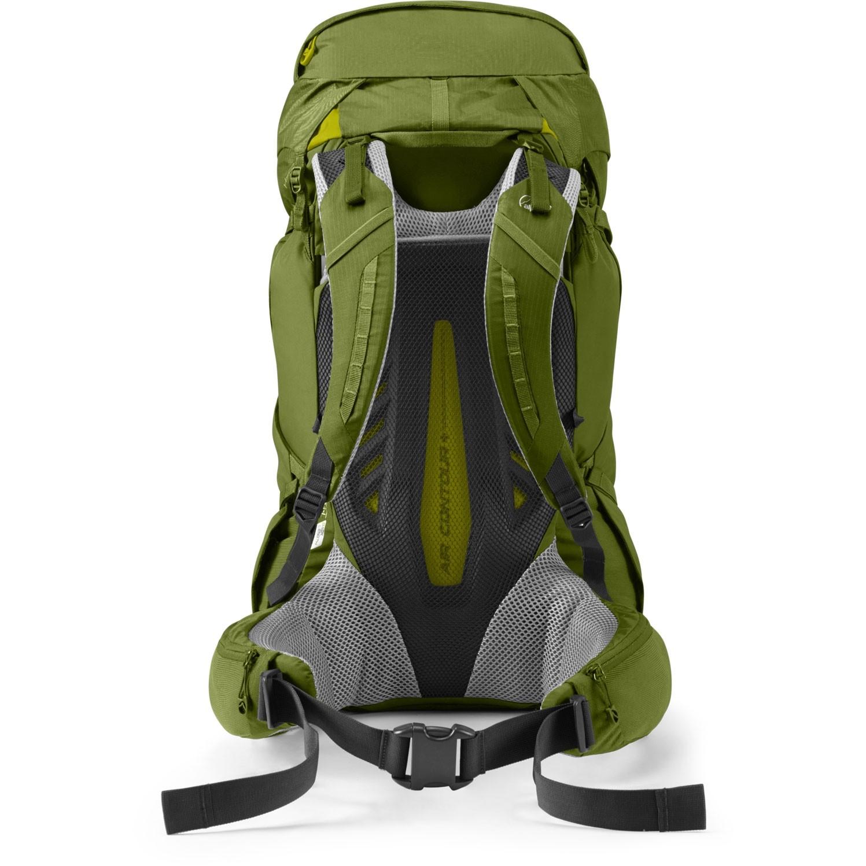 Lowe Alpine Altus 52:57 Hiking Rucksack - Fern - back system