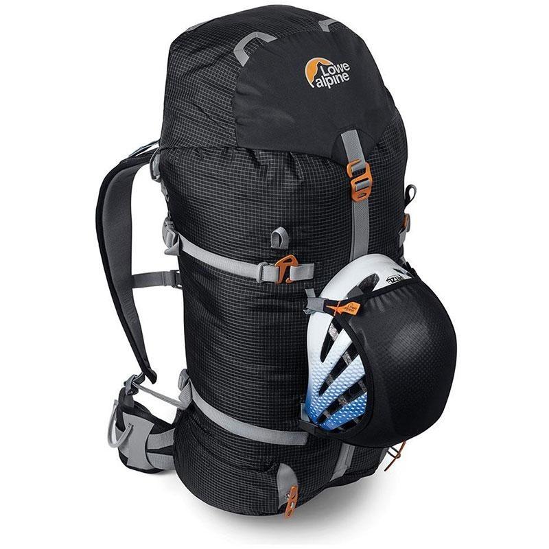 Lowe Alpine Helmet Holder - Black - On Pack