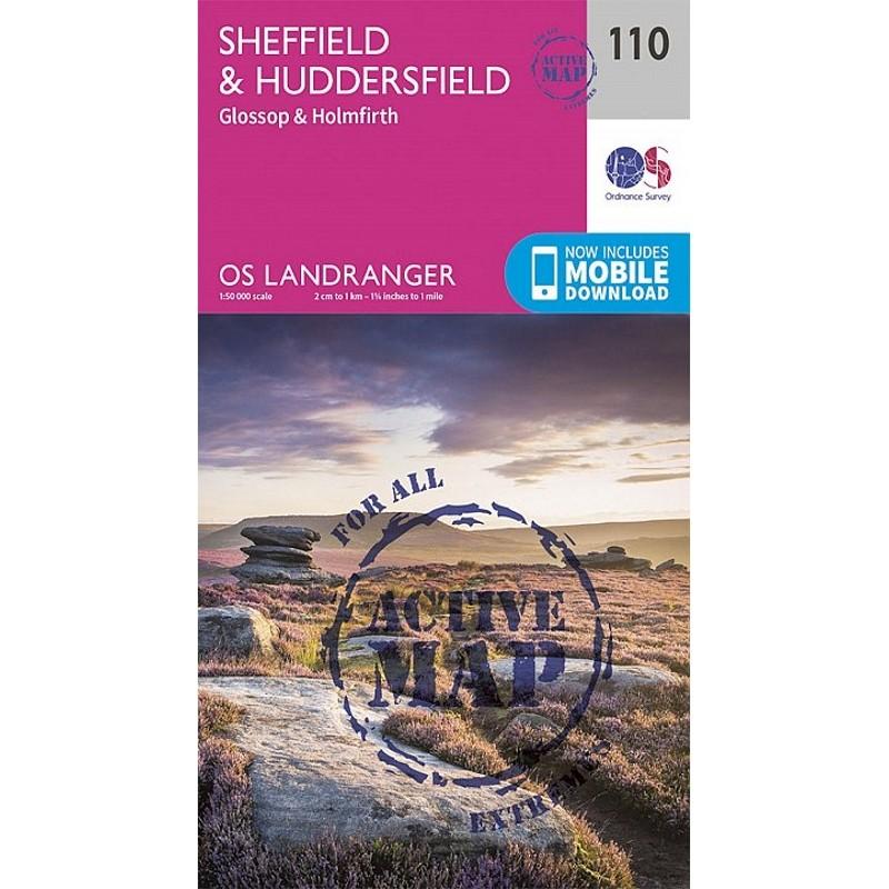 LR110 Sheffield & Huddersfield: ACTIVE  by Ordnance Survey