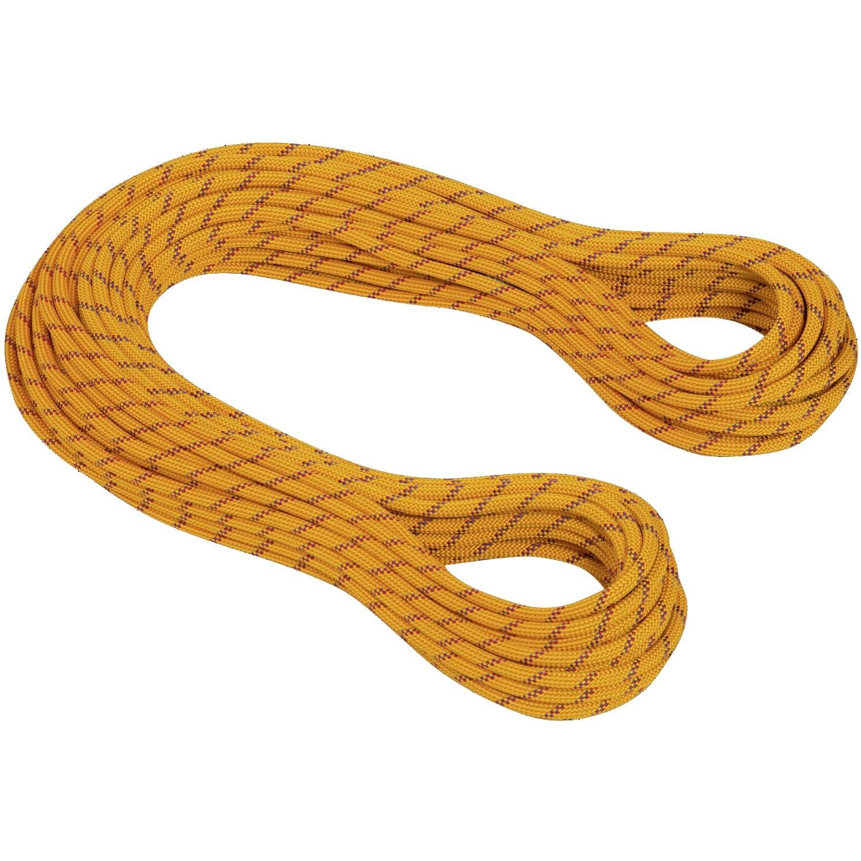 MAMMUT - Genesis 8.5mm Dry Half/Twin Rope - Yellow/Orange
