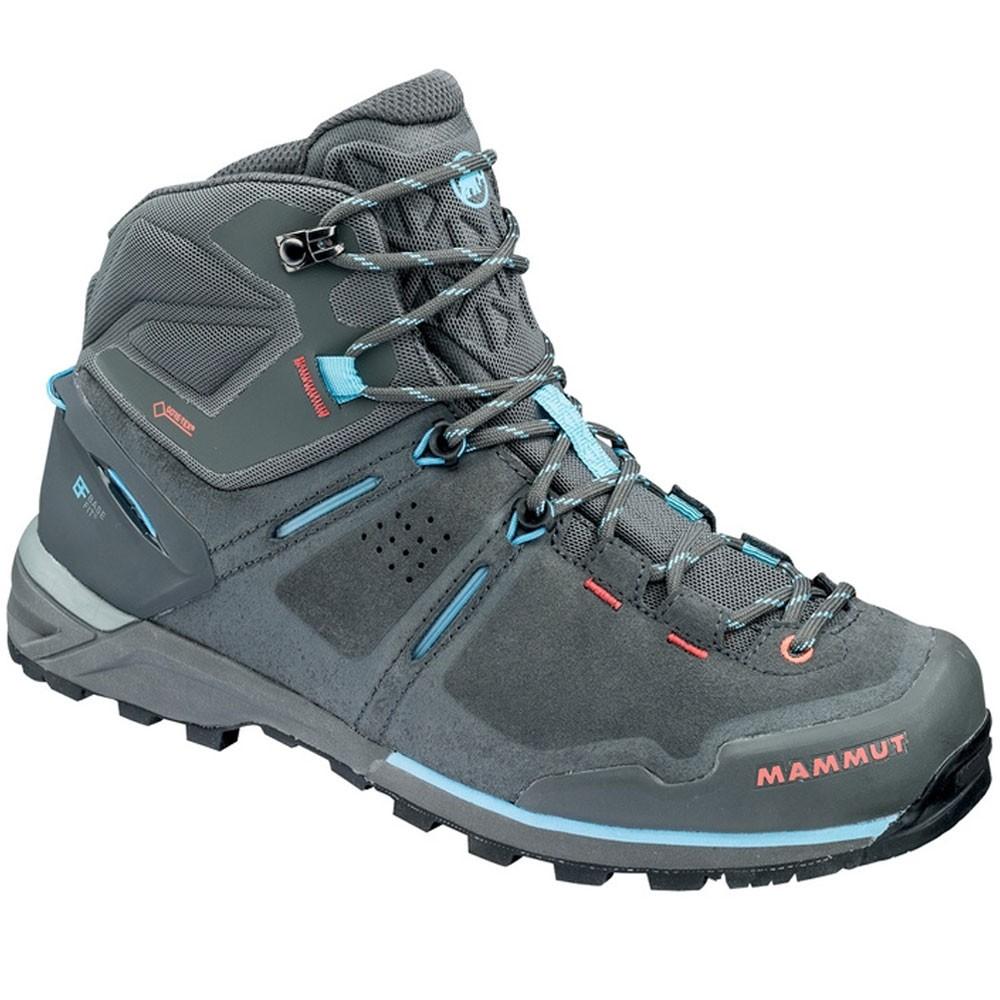 Mammut Alnasca Pro Mid Women's GTX® Boots - Graphite/Whisper