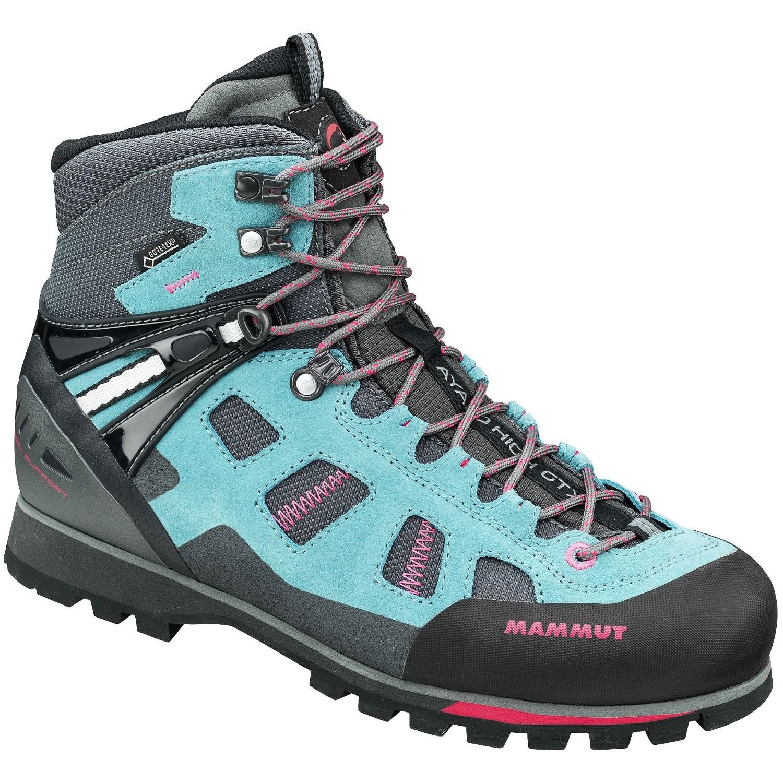 Mammut Ayako High Women's GTX Hiking Boots - Dark Air/Magenta